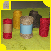 Burlap Ribbon 5 5 Wide 5