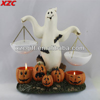 Aroma Oil Burner,Candle Holder,Halloween Decor,Ghost Pumpkin