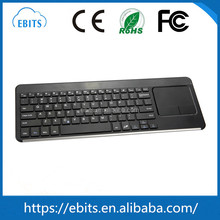 Flexible top quality wireless bluetooth keyboard with touchpad for ipad / WIN8 / Notebook / Tablet PC