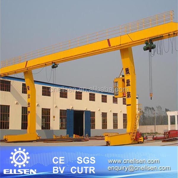 Automated C type single gantry crane applied in steel plant