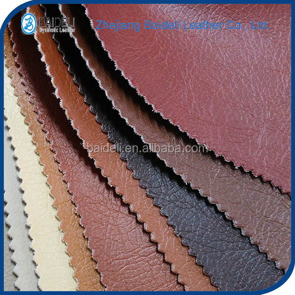 Two kinds embossed pvc/pu leather for sofa,soft hand feeling leather ,artifcial leather for sofa