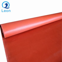 Price per square meter insulation silicone rubber coated fiberglass