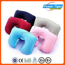2015 fashion inflatabe neck pillow u-shape airplane pillow