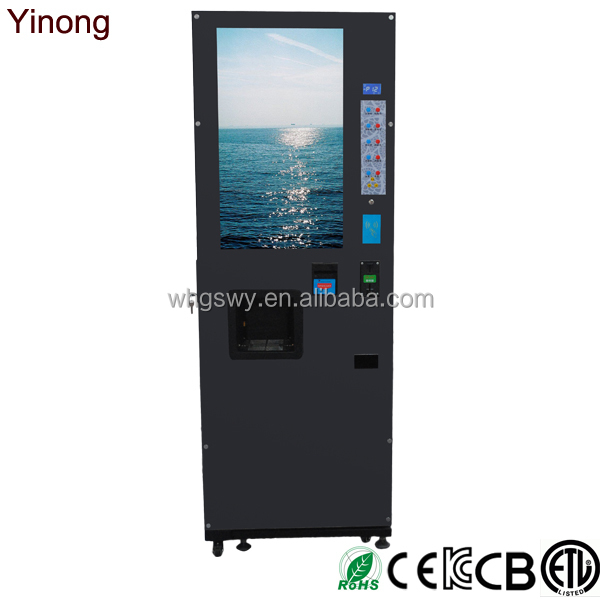 Yinong Voice Functions LCD Coffee Vending Machine