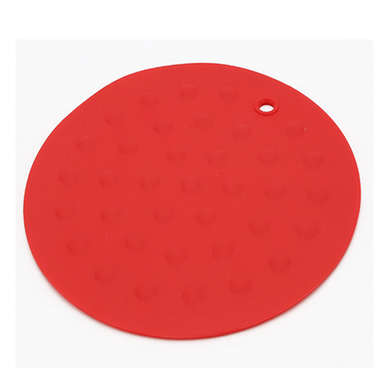 Shinerin round shape shooting mat silicone dining table floor cup mats&pads