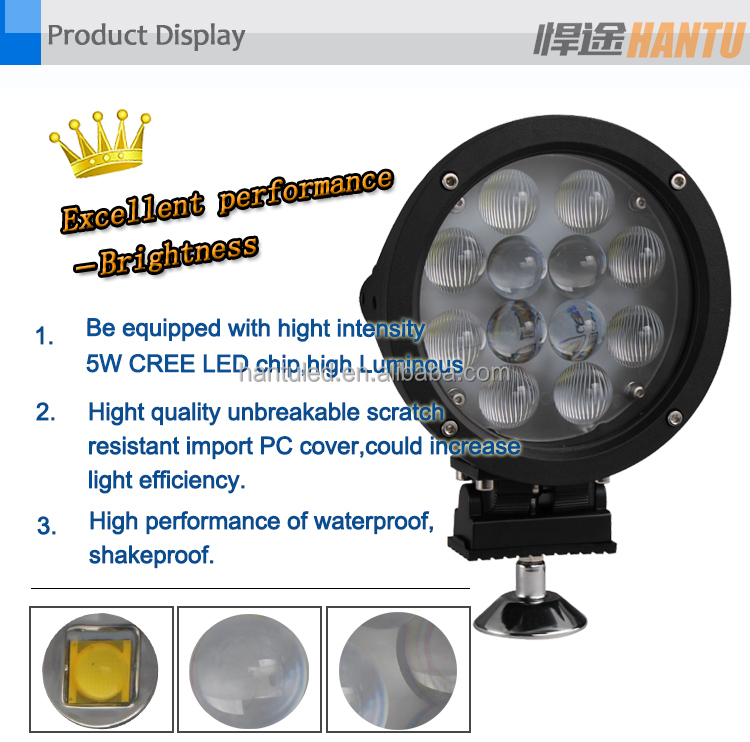 Best Auto Electrical System LED Offroad work Light Off Road Led work Light For Trucks