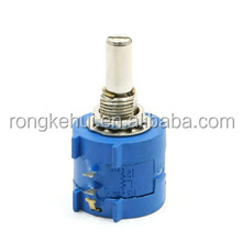 3590S-2-103L 10K Ohm 10-Turn Rotary Wire Wound Precision Potentiometer