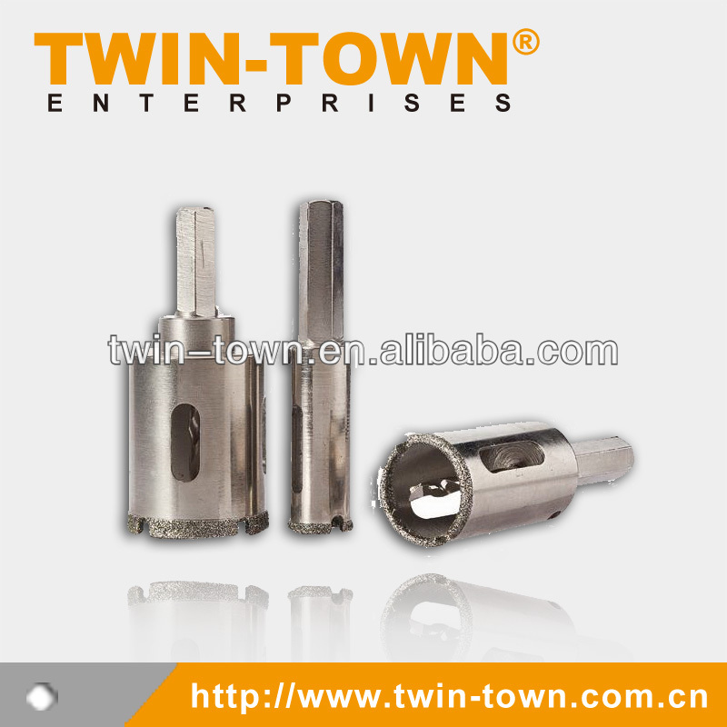 Electroplated Diamond Drill Hex Shank 10mm