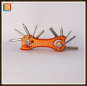 2017 Hot 11 In 1 Stainless Steel Multi Function Bicycle Tools With Aluminum Handle