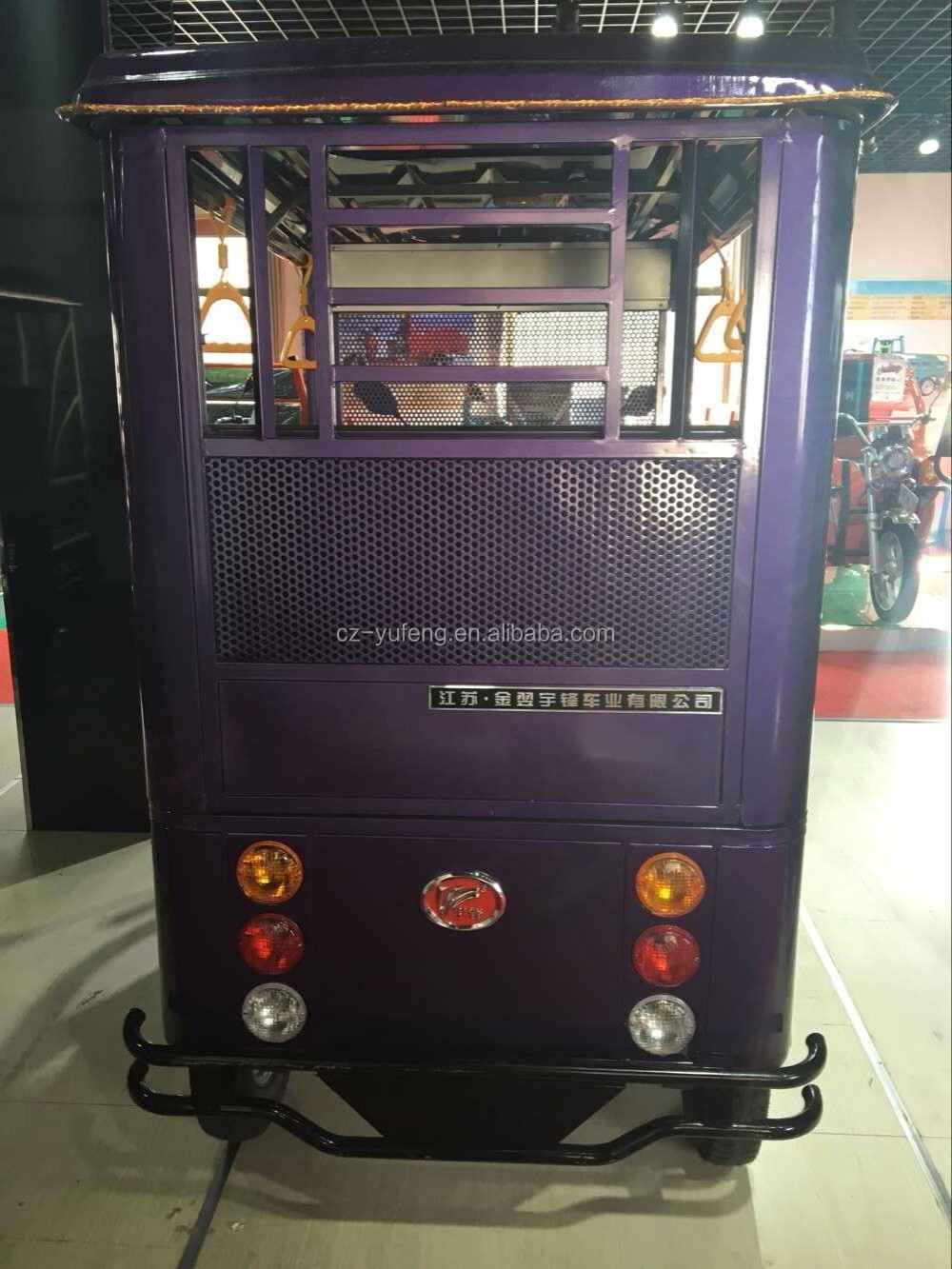 Yufeng electric rickshaw battery powered for sale