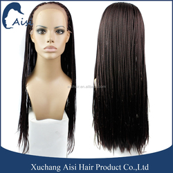 Top Quality Synthetic Lace Front Wigs For Black Woman Hair Accessories Lace Closures Braided Hair Wigs African Braid