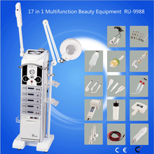 China High Frequency Multi-functional Beauty Machine Beauty Salon Equipment 19 in 1 Cynthia RU 9988