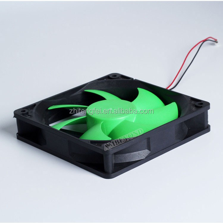 "DC 5V 120mm Fan Cooling 120mm x 25mm 4.72"" 12025 Green Blades Brushless Cooling Fan"