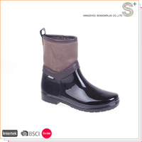 2016 new china supplier women clear pvc rain boots