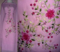 KAIN SULAM BUKIT TINGGI Embroidered Fabric