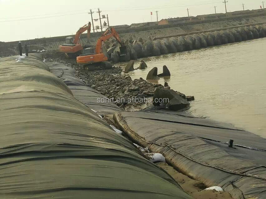 400g/sqm Woven geotextile Geotube for Protecting Coastline