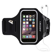 Haissky Waterproof Running Sport Armband Pouch Case for iPhone 6plus/7plus,8,8plus armband cover holder