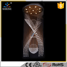 Lustres De Crystal Pendant Light Led Top K9 Crystal Round Ball Light And Ceiling lighting