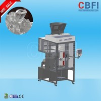2016 new low power plastic cube ice bag packing machine