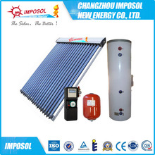 Open / Closed Loop Separated Heat Pipe Solar Water Heater System