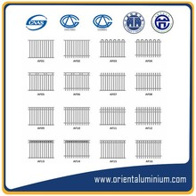 factory designs aluminum fences, types of fencing