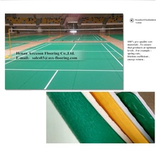 Hot Sale Safety Vinyl Pvc Sports Rolled Vinyl Flooring