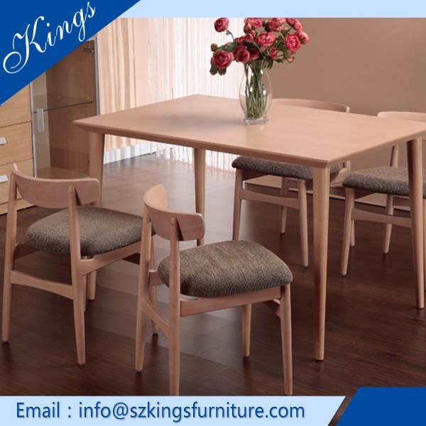 2015 Hot Sale Dining Chair Old Wood Table Morden Dinning Table