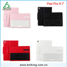 "Wireless Bluetooth Keyboard For iPad Pro 9.7"" keyboard 2in1 leather case"