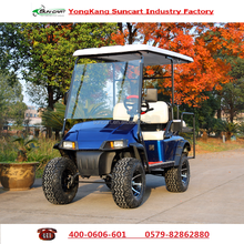 Customized 4 passenager electric golf cart,electric hunting cart,48V battery