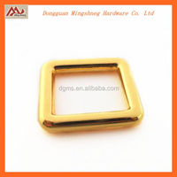Wholesale gold Rectangle Ring metal belt buckle