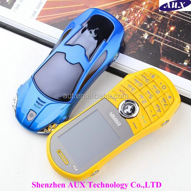 Super cheap 1.8 inch dual sim car shaped mobile phone F1+ with HD camera