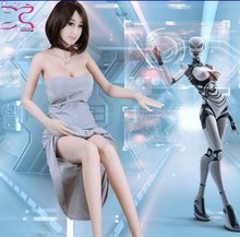 English Talking Realistic Silicone Lifelike Humanoid Sex robot Sale AI Intelligent Dolls Sex Robot for Men