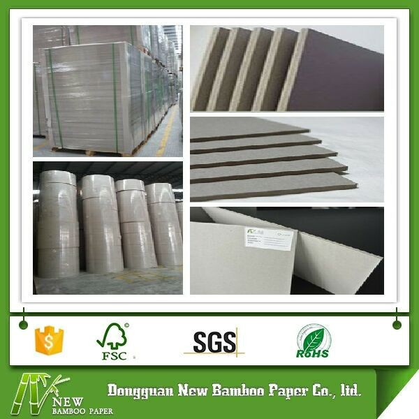 Laminated folding resistance uncoated board paper stocklot