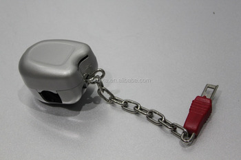 supermarket shopping trolley used zinc alloy coin lock