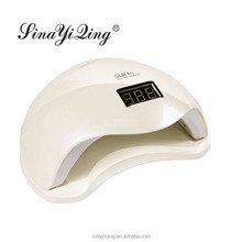 Factory wholesale white light uv lamp nail 48w with special design