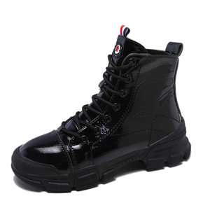fashion black women ankle boots   ladies work boots