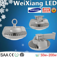 2016 High Lumen 120-130lm/w 50W 60W 80W 100W 120W 150W LED High Bay Light Fixture With Hook/Ceiling/Wall Mounted