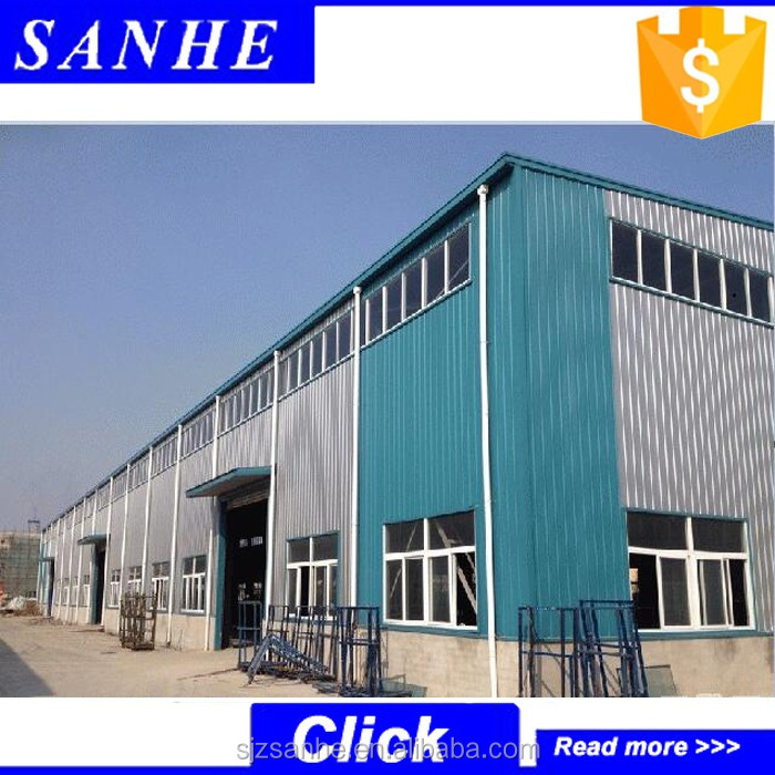 long-span prefabricated industrial shed steel structure building for warehouse,workshop