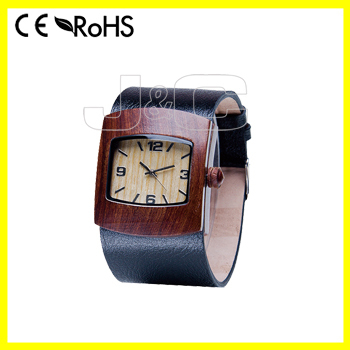 2015 latest wrist watch mobile phone and waterproof wooden watch for men