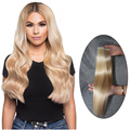 seamless double side PU tape hair extension in hair extension