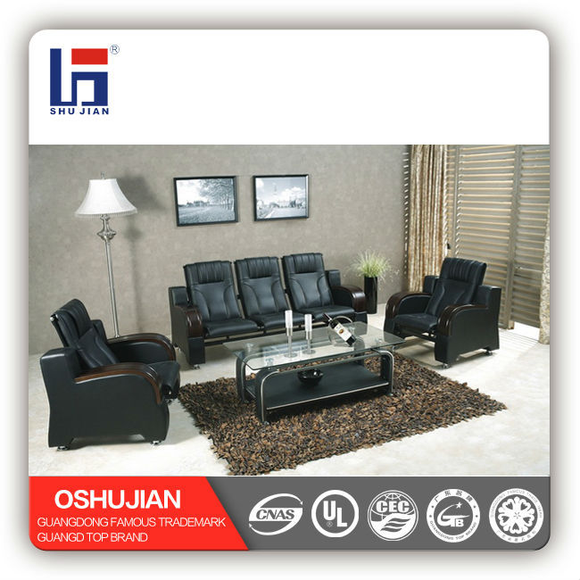 Chinese style wooden office sofa for sale SJ950