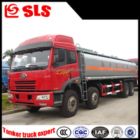 FAW large size 30000L mobile fuel dispenser, tank truck weight