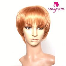 Fashion and hot sale sewing hair to wig