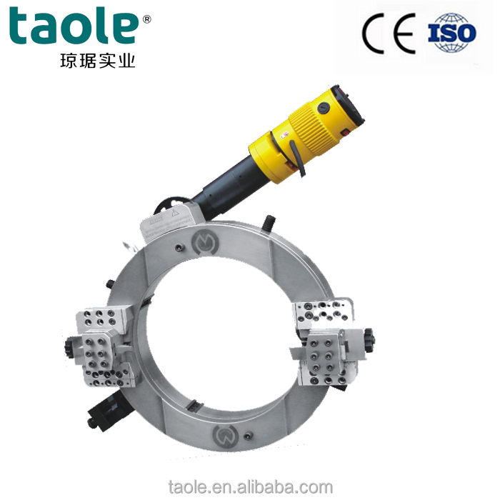 High Speed Aotai OD-Mounted OCE-630 Split Frame Pipe <strong>Cold</strong> Cutting and Beveling Machines for Pipe Diameter 20''-24''