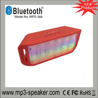New pulse portable bluetooth speaker super bass wireless mini speakers sound box built -in flash led light
