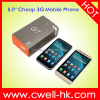 Hotsale 5.0 Inch H-Mobile G7 Dual SIM Card WCDMA 3G Cheap China Mobile Android Phone