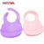 Eco-Friendly Cheap Lovely Baby Bibs Waterproof Silicone Food Grade Silicone Bib