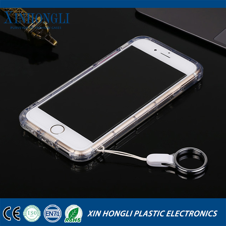 new products anti-shock transparent soft silicone case for iphone 6s