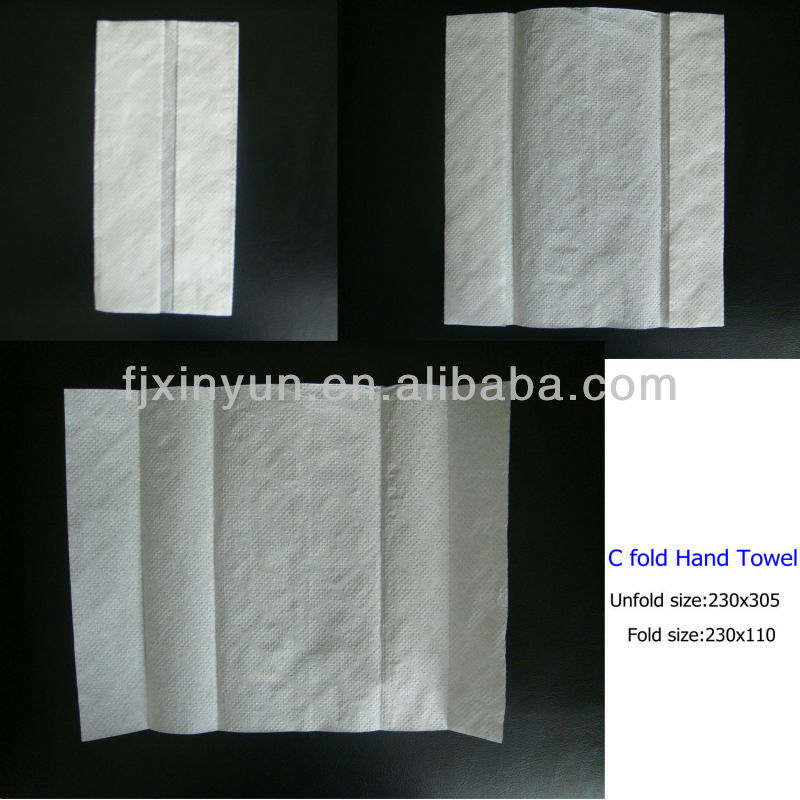 Automatic C Fold Hand Towel Paper Machine Paper Processing Machinery