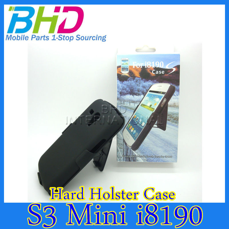 for Samsung Galaxy S3 mini i8190 Holster Case with Swivel Belt Clip KickStand case